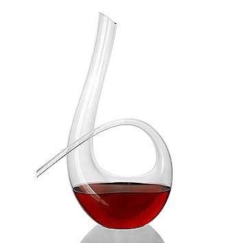 Carafe XINGUANG Vin Rouge décanteur de vin en Verre Cristal décanteur 1L vin  soufflant Artificiel Purificateur ed9e05ac5c4d