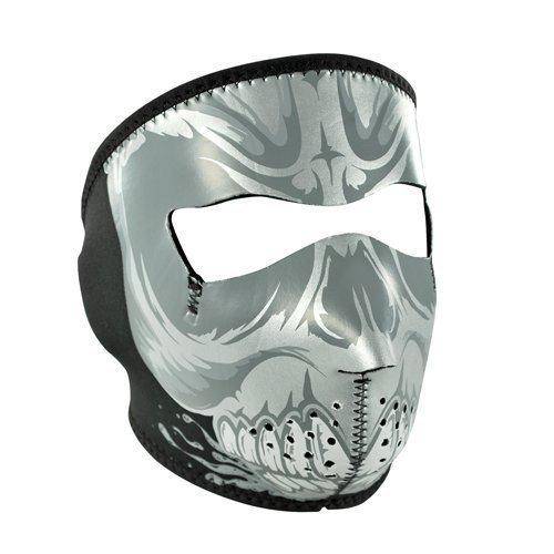 Zanheadgear Neoprene Full Face Mask, Microfleece Lining, Gnasher