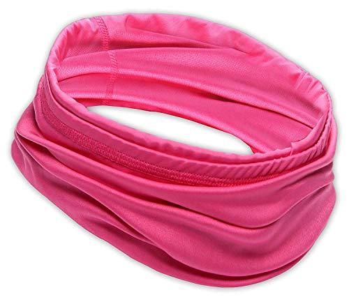 12-in-1 Cooling Headwear - UPF 30 Versatile Outdoors & Daily Headwear - 12 Ways to Wear Including Headband, Neck Wrap, Bandana, Face Mask, Helmet Liner. Performance Moisture Wicking Polyester