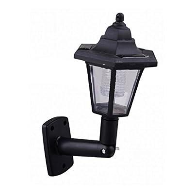 Tloowy Hot LED Solar Powered Wall Lanterns Wall Light Lamp Outdoor Garden Fence Door