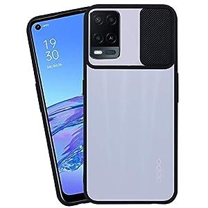 HARRAI® Slide Cover Camera Lens Protector Matte Translucent Soft Edges Anti-Scratch Anti-Fingerprint Cover for Oppo A54…