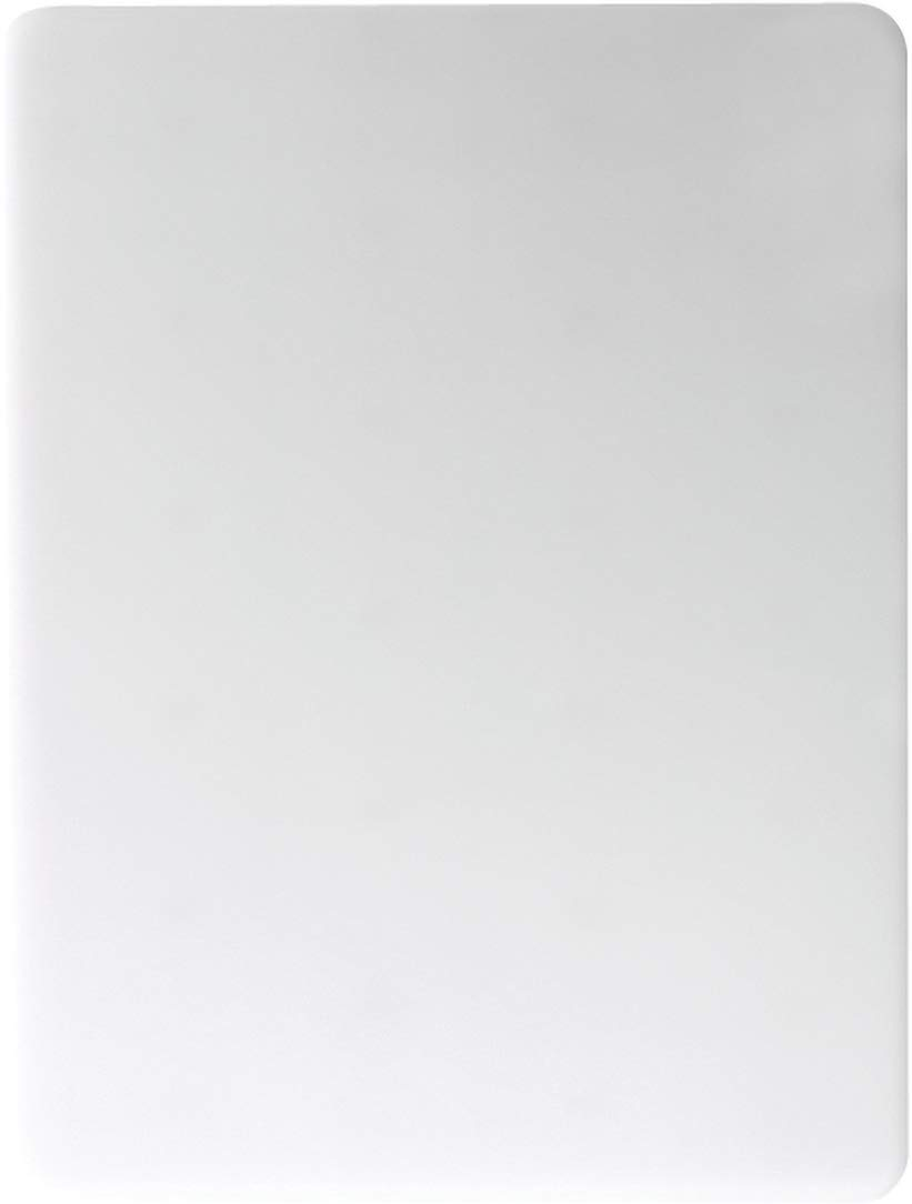 "San Jamar CB18241WH Cut-N-Carry Co-Polymer Cutting Board, 24"" Width x 18"" Height x 1"" Depth, White"