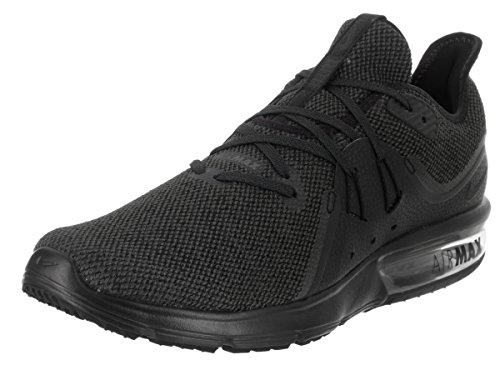 NIKE Men's Air Max Sequent 3 Running Shoe Black/Anthracite Size 9 M US