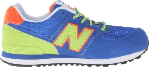 New Balance Classic Traditionnel Blue Youths Trainers Size 6.5 UK