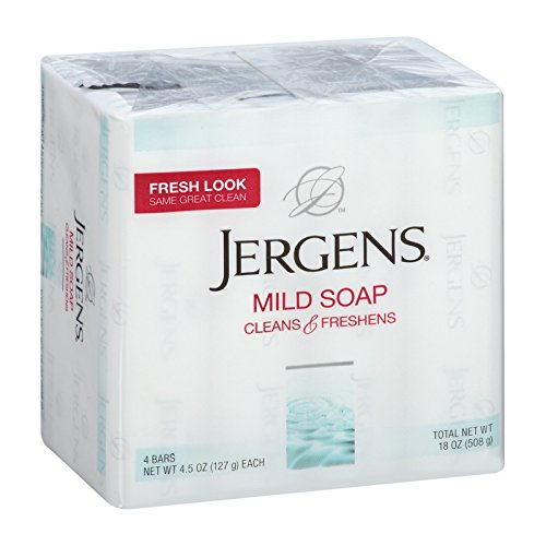 Price comparison product image Jergens Mild Soap (4 bar)