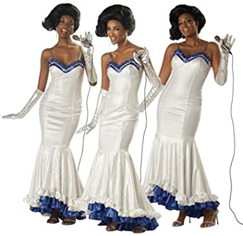 Adult Dreamgirls Dress The Supremes Halloween Costume