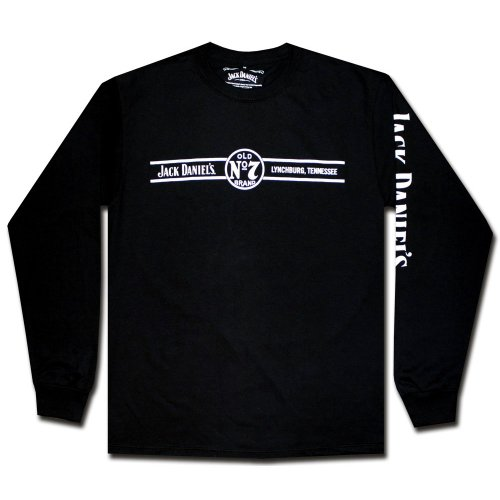 Jack Daniels Men's Daniel's Long Sleeve Tee Black Large for sale  Delivered anywhere in USA