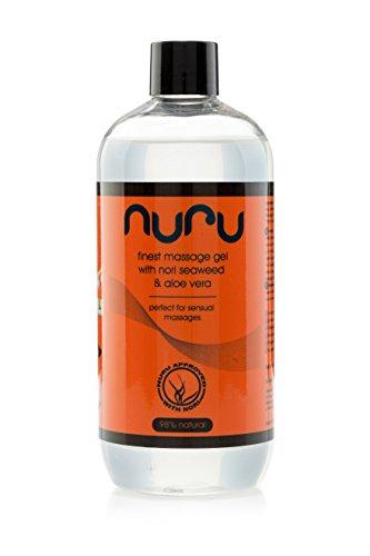 Nuru Gel Finest Massage Gel 500 ml - perfekt für Nass Massagen