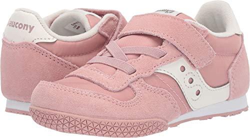 (Saucony Kids Baby Girl's Bullet Jr (Toddler/Little Kid) Pink/Cream 10 M US Toddler)