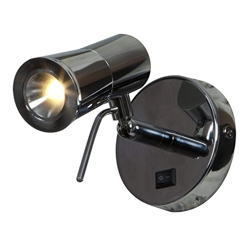Cyprus-2  LED Light Wall Sconce - Chrome (Chrome Fluorescent Lock)