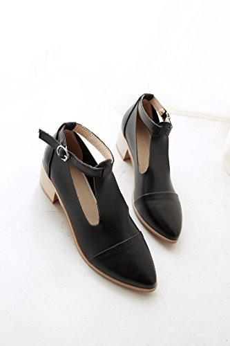 Zhznvx Toe Brown Sandales New avec épaisse Chaussures Mode Surface peu et profonde pour peu femmes profonde rfqAraw