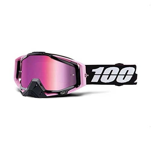 100% Racecraft Adult Off-Road Goggles - Floyd/Pink Chrome Lens / One Size