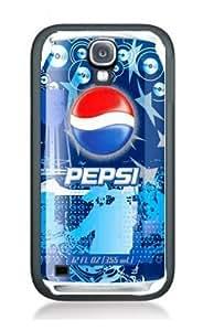 Case Pepsi Cola Cover for Samsung S3mini PS4 Border Rubber Silicone Case Black@pattayamart