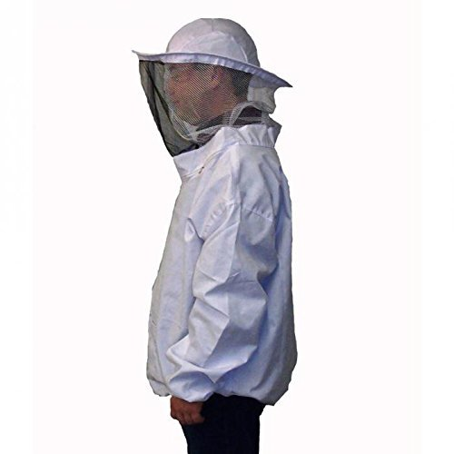 Camouflage Beekeeping Jacket Protective Veil Smock Bee Coat Suit Clothes-Ez2Shop