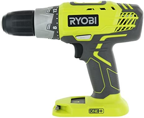 Ryobi P277 One 18 Volt Lithium Ion 1 2 Inch 2-Speed Drill Driver 18 Volt Batteries Not Included Power Tool Only Renewed