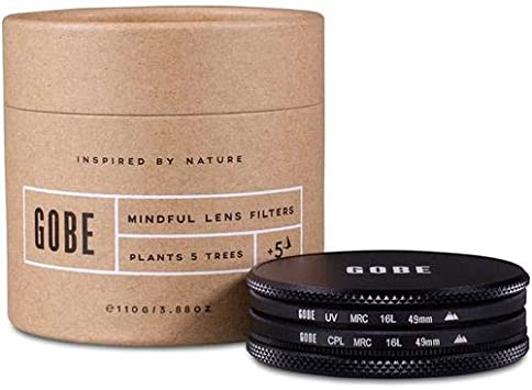 2Peak CPL Lens Filter Kit Circular Polarizing Gobe 40.5mm UV