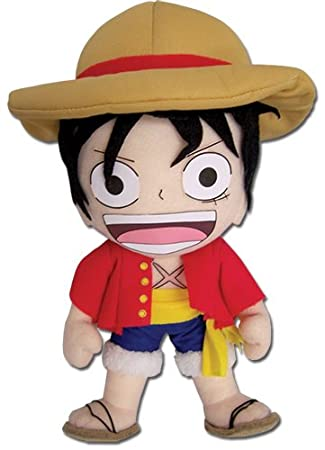 One Piece New World Peluche Figura Ruffy (23cm) - original & official licensed