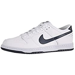 Nike Mens Dunk Low Top Leather Basketball Sneaker