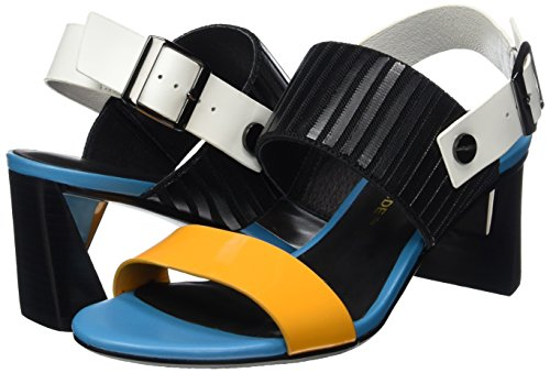 Women's Zink Slingback mango Open Mehrfarbig Mid Nude Sandals United Mix Toe wAq5FIaRO