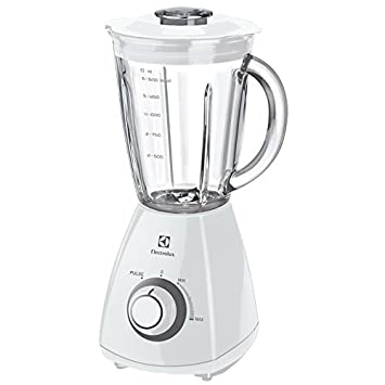 Electrolux ESB2350 Batidora de vaso Blanco - Licuadora (Batidora de vaso, Blanco, 387,4 mm, 215 mm, 207,4 mm, 1,9 kg): Amazon.es: Hogar