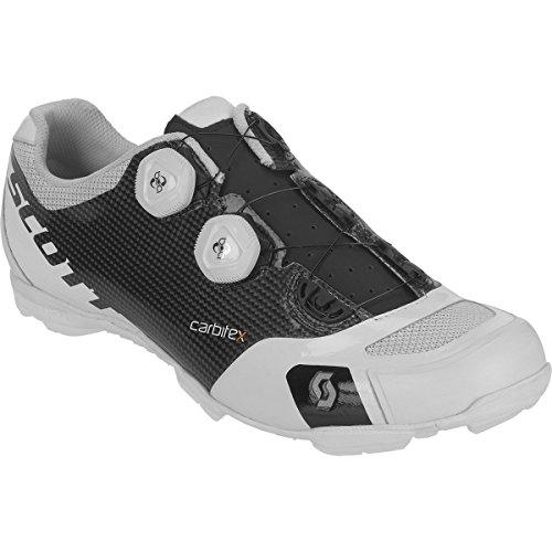Scott Mtb Rc Sl Shoe Nero Opaco / Bianco Lucido, 45.0 - Uomo