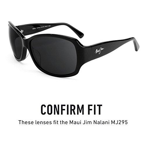 Maui Hielo Mirrorshield para de MJ295 Azul Jim Opciones múltiples Lentes Nalani Elite repuesto Polarizados — pZxpO