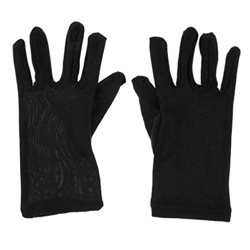 Halloween Gloves Fabric Gloves Prop MagiDeal Costume Decor Dress Fancy Black Cosplay dPpUBw