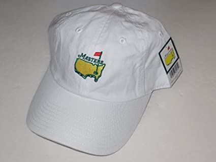 Masters hat white caddy style augusta national golf new 2019 pga at ... 0f127e622198