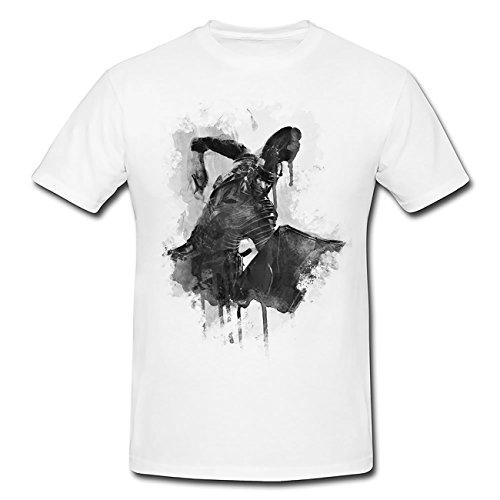 Ryse Son of Rome Mann Schwert T-Shirt Herren, weiß mit Aufdruck