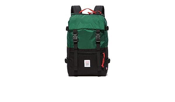 Topo Designs Rover Pack – Forestal/Negro: Amazon.es: Deportes y aire libre