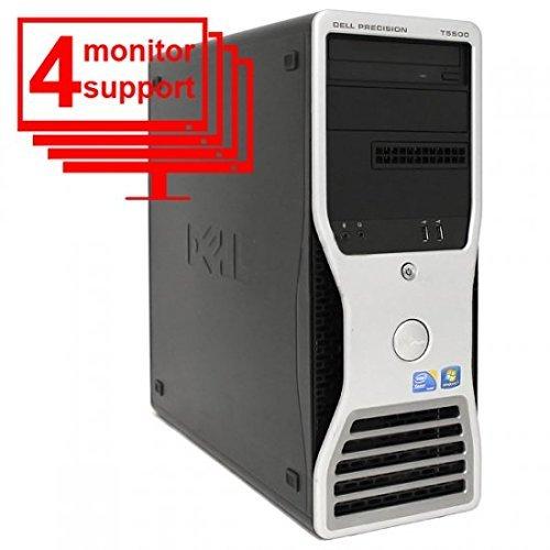 (Dell Precision T5500 Octo Core 4 Monitor E5506 8gb 256gb SSD)
