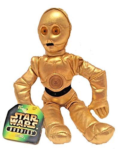 (Star Wars Buddies C-3po Plush By Kenner)