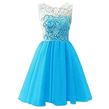 Girls Lace Dress Ballgown for Wedding Party