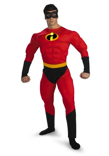 5368 (XL 42-46) Mr. Incredible Muscle Chest Adult (Mr Incredible Adult Costume)