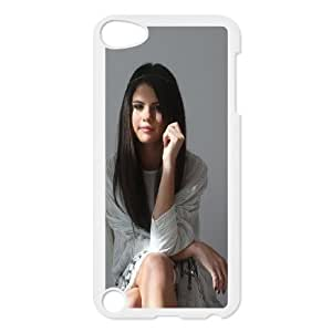 FOR Ipod Touch 5 -(DXJ PHONE CASE)-Singer Selena Gomez-PATTERN 8