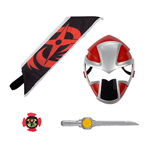 Power Rangers Ninja Steel - Red Ranger Hero Set]()