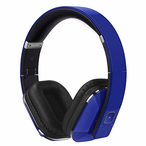 Over Ear Bluetooth Wireless Headphones - August EP650 with Android/iOS App...