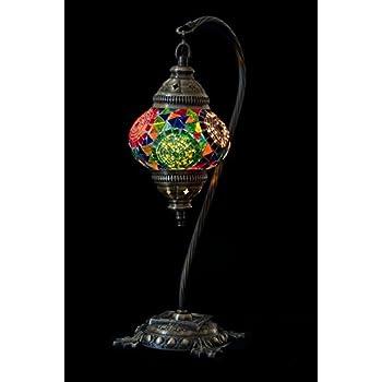 Mosaic Table Lamp,Lamp Shade,Turkish Lamp,Moroccan Lamp