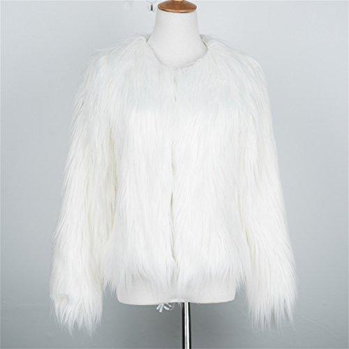 DINGANG - Abrigo - para mujer blanco