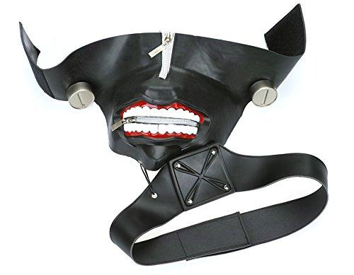 CoolChange Hochwertige Tokyo Ghoul Maske von Ken Kaneki aus Gummi Gummi Gummi d1a6df
