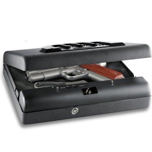 Gunvault Microvault Standard Handgun Safe 11 x 8 x 2 - No-Eyes Keypad