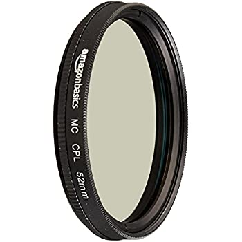 AmazonBasics Circular Polarizer Lens - 52 mm
