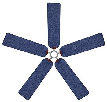 Fan Blade Designs 8R-EXIG-Z764 Ceiling Fan Blade Covers, Denim