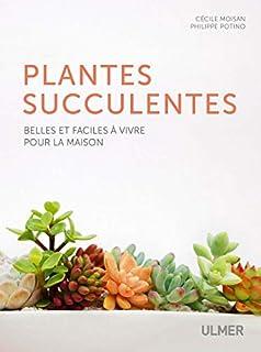 Plantes succulentes : belles et faciles à vivre pour la maison, Moisan, Cécile