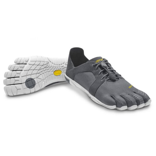 Vibram FiveFingers CVT LS Men - 2014, Size:43;Color:Dark Grey/White