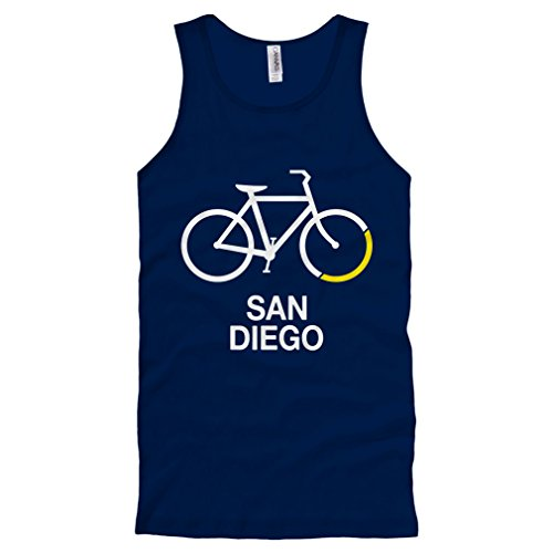 Smash Transit Men's Bike San Diego Tank Top - Navy, XX-Large