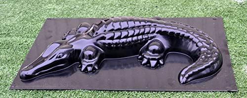 (Betonex Mold Casting Crocodile DECORATIV Concrete Gator Garden Mold Alligator (#A06)