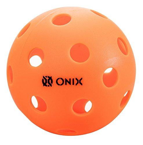 Pure 2 Indoor Pickleballs (Orange, 6 balls)