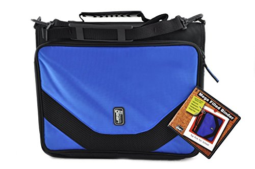Tech Gear Mega Filled Binder, Blue