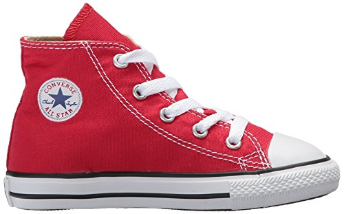 Taylor Trainers Star All Red Converse Unisex Kids Red Red Hi Chuck Fxq0tgpnw5